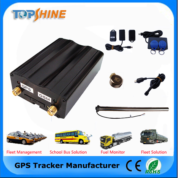 Newest Solution Mini GPS Tracker With Smart Phone Reader Can Cut engine off
