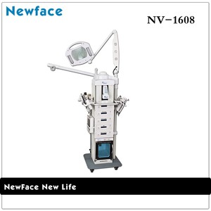 NV-1608 Beauty Equipment And Supplies Photon Seven Colors, Microcurrent Output: 0-60 MA 19 In 1 Multi Function Beauty Instrument