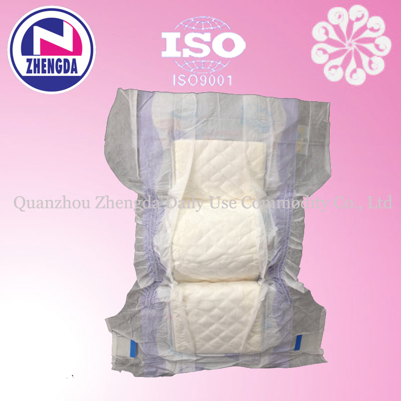 High Absorption with colorful design heeppo Soft Breathable Sleepy Baby Diaper