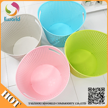 attractive price new type pp handle plastic laundry storage basket