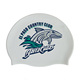 Fashionable Seepdo Quality Adult / Kid sizes customized logo printed waterproof silicone swim cap For Swimming
