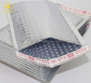 Beautiful glossy metallic foil bubble envelope/bubble express bags/mailing bags