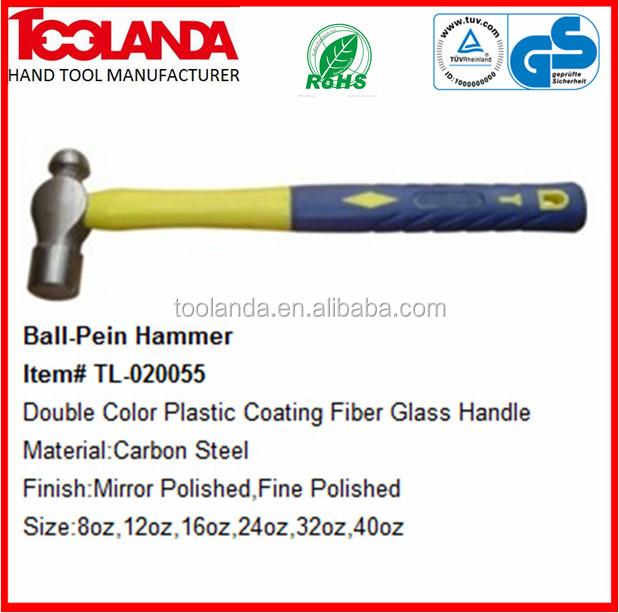 16oz /& 32oz 3 x BERGEN BALL PEIN HAMMERS WITH TPR HANDLE 8oz