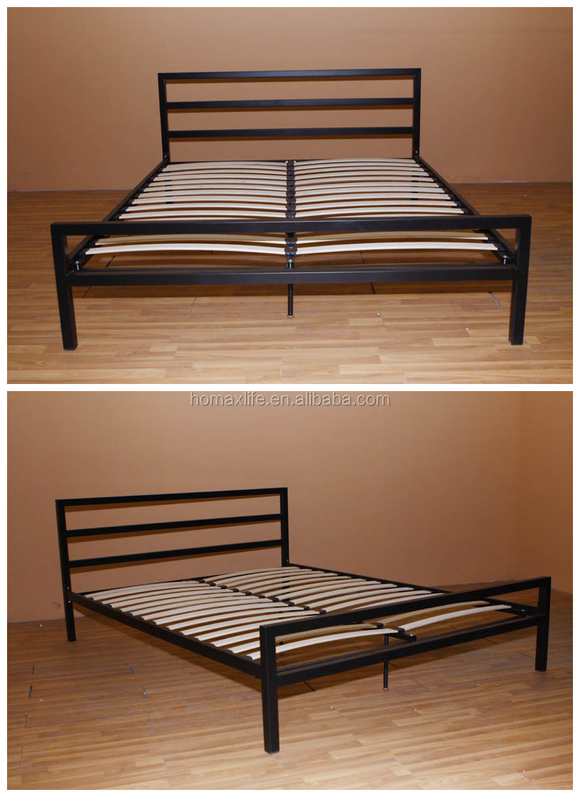 Modern Furniture Metal Beds Double Bed Latest Double Beds