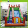 used water slide giant inflatable floating water slide for sale for kids and adults