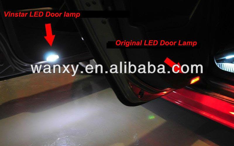 Exw Price Led Interior Lamp Car Led 3d Logo Lamp For V.w Golf5 6 ...