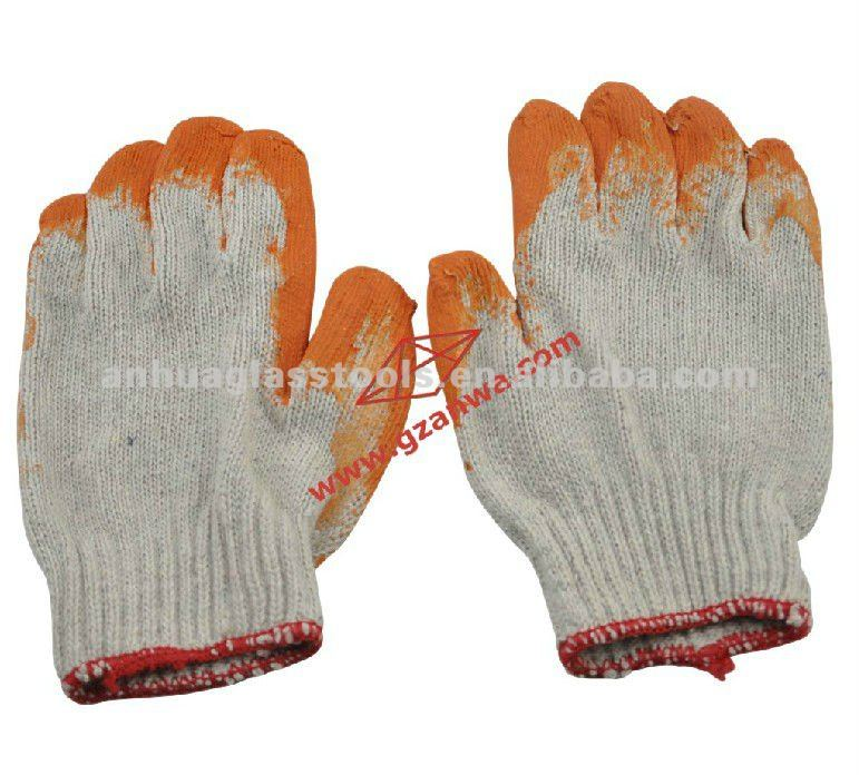hand gloves for safety protection for wood, glass, metal