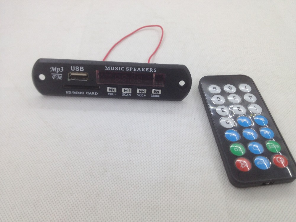 With Bluetooth USB SD MP3 Player Module