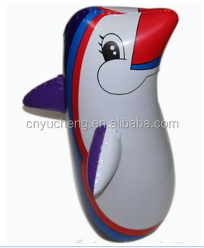 plastic PVC inflatable roly-poly toy