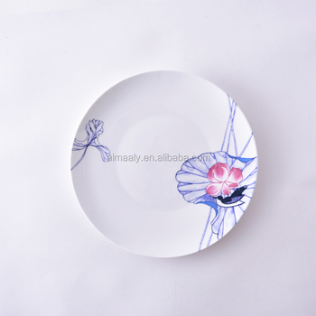 dinner plate chinese ceramic,full design plate,restaurant dinner