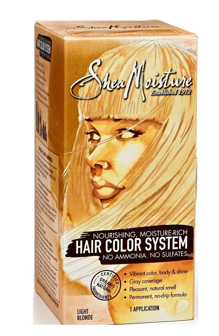 Buy Shea Moisture Hair Color System Light Blonde Sulfate Free