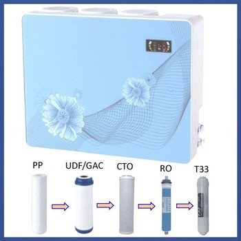 Wall Mounted Best Home Drinking Water Filter/water Purifier China RO  Reverse Osmosis System