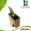 Hot selling Bamboo magnetic knife block with high quality