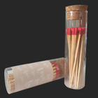 100mm, 170mm, 200mm, 240mm glass jar matches with high quality