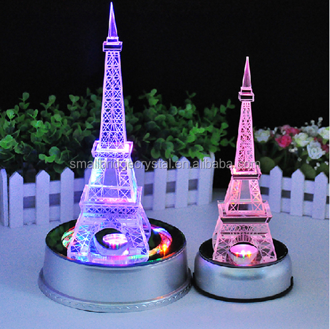 Wholesale rotates led base centerpieces tourist crystal - Mesa tower crystal ...