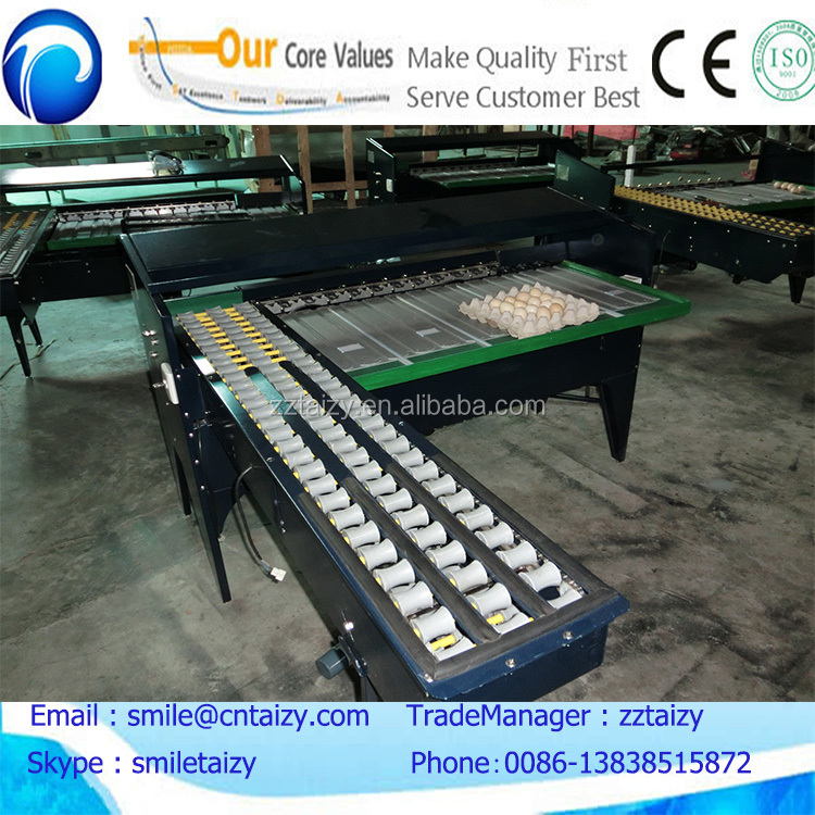 small capacity 4000 pieces per hour egg grading machine with five grade level
