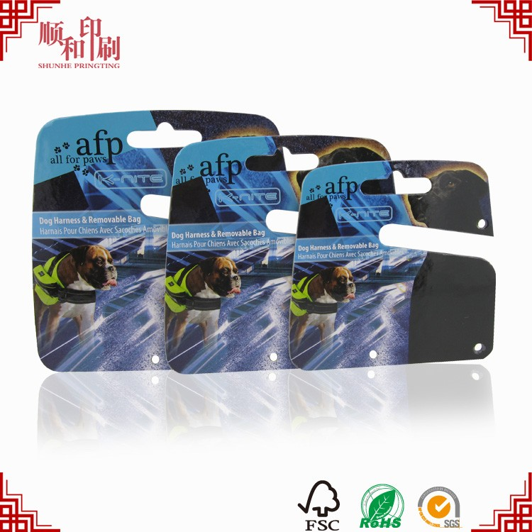 Thick card printing custom color Pets
