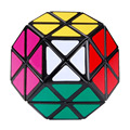2016 New Arrival Colorful Dayan Gem Magic Cubes Ridged Megaminx Speed Puzzles Cube Toys Black Learning