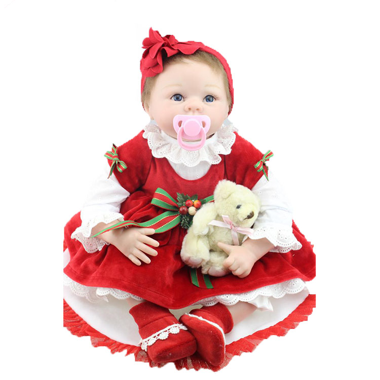 2017 new inventions christmas soft vinyl real reborn <strong>dolls</strong> for baby
