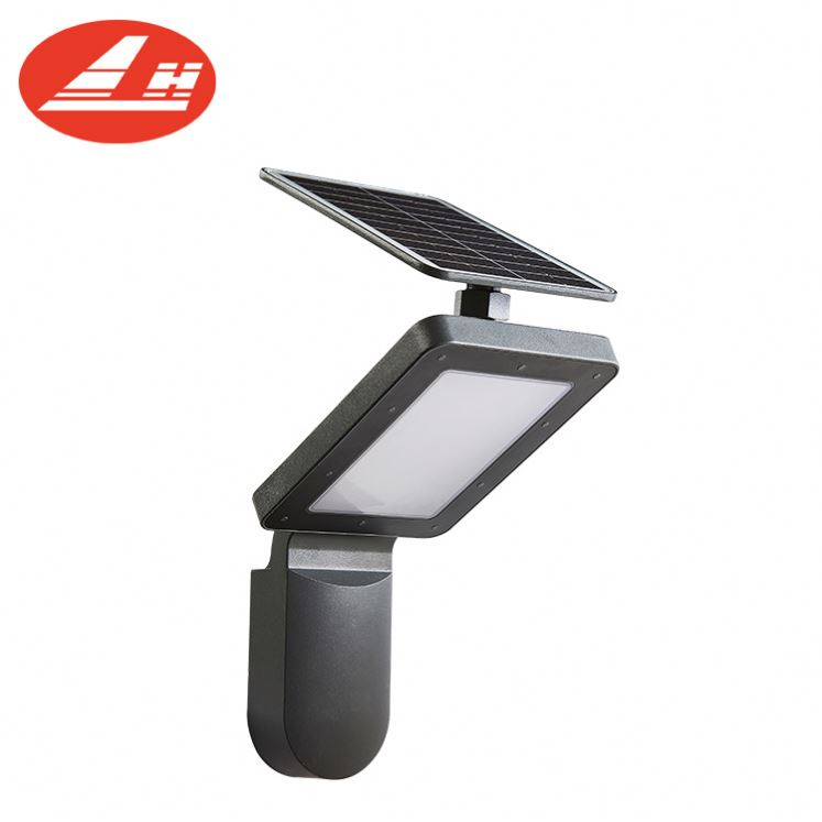 Small solar powered led light outdoor solar wall mounted lamp COB LED wall lights outdoor front door yard lantern lamp