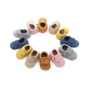 Mocasines BEIBEINOYA de cuero para bebés, zapatos para niñas, mocasines para recién nacido al por mayor