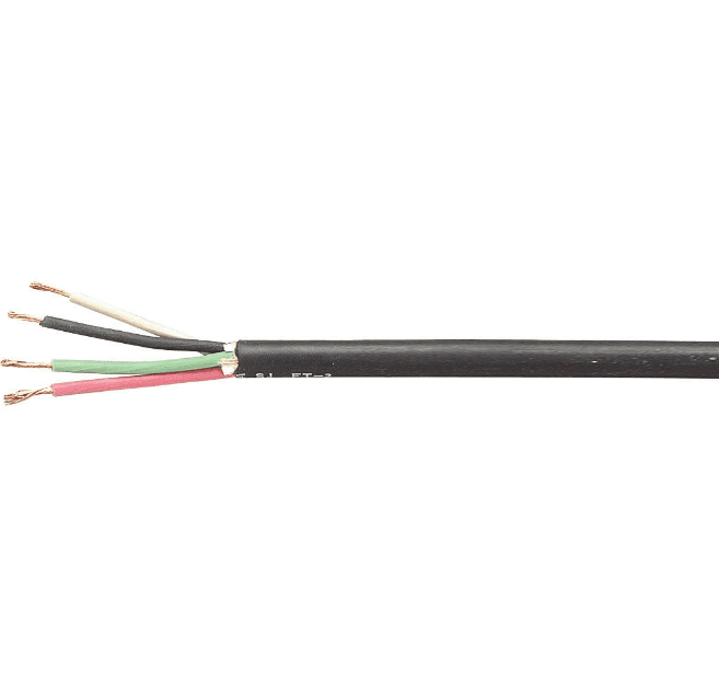 Carol 10 AWG 3C SJOOW Power Cable 50 ft.