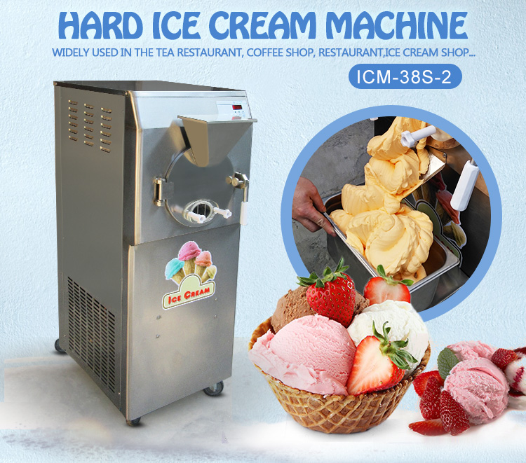 ETL CE Rohs Approval Italy Gelato Hard Ice Cream Machine/Gelato Machine