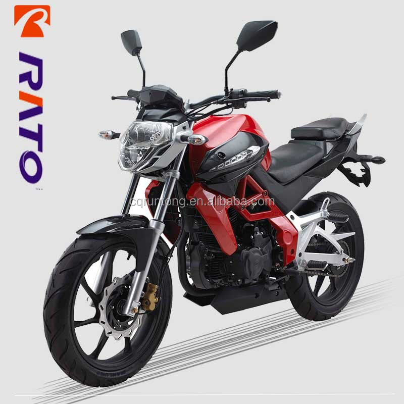 200cc F4 series Air cooling vertical Street bike motorcycles for sale