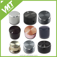 Made machined aluminum knurled aluminum knobs