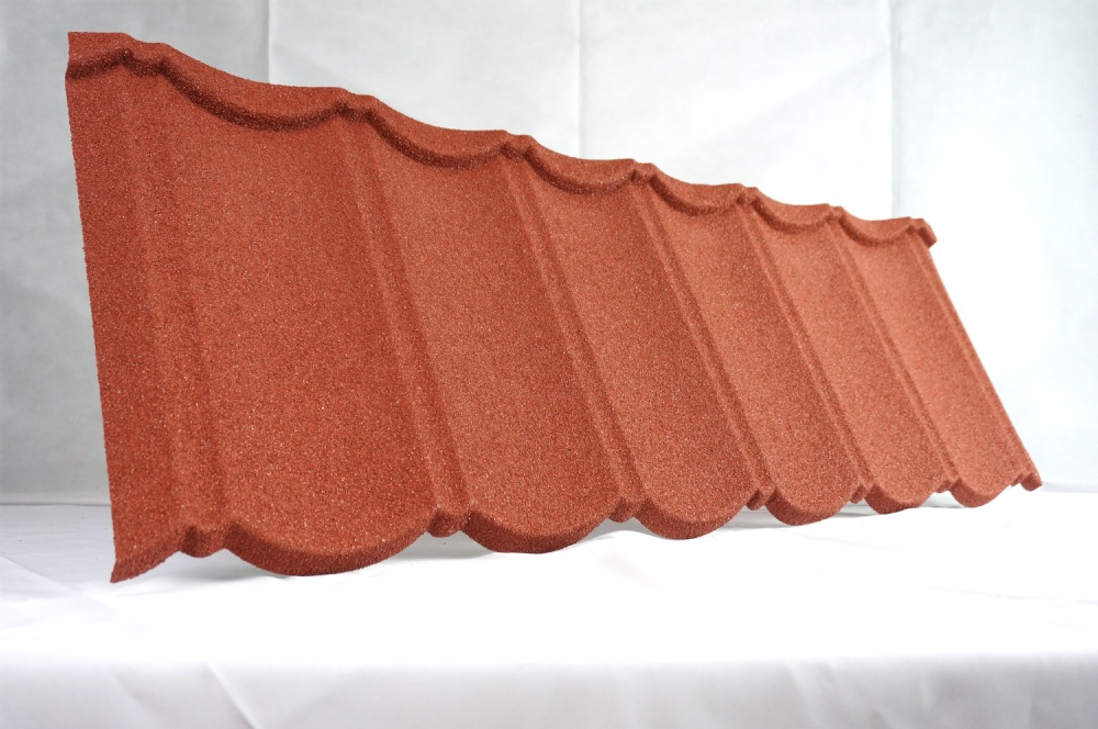 2017 popular classic colorful stone coated metal roofing tile / aluminium steel roof tiles / Sunstone metal roof tiles