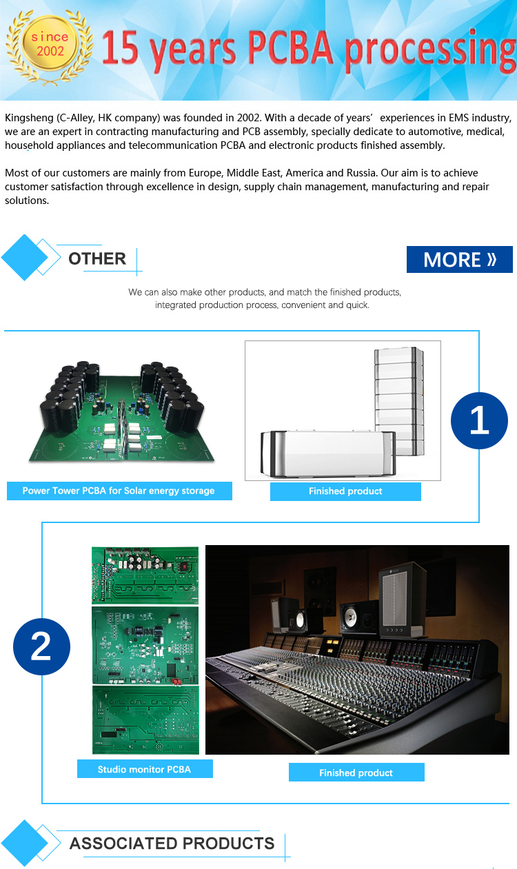 Inverter Pcb Board Universal Control Pvb Electronic Circuit Repairs Printed Manufacturer Assembly Smt Dip Fabricate