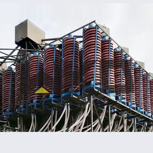 Energy saving gold beneficiation equipment niobium spiral concentrator for sale