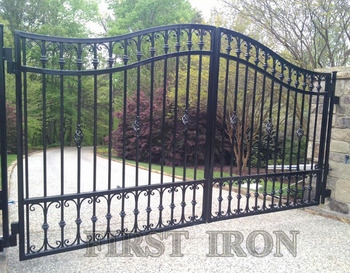 Ornamental Outdoor Wrought Iron