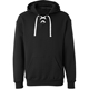 Wholesale Men's Sport Wear Plain Black Custom Design Lace Up Hoodie