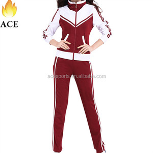 New design sublimation tracksuit ,cheerleading tracksuit for cheerleader,sport yoga tracksuit for women