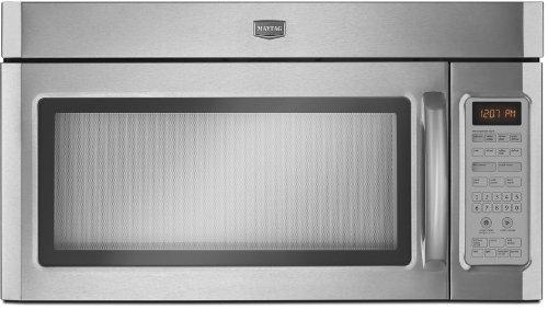 Combination Range Hood Microwave With 1100 Watts