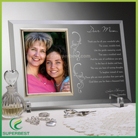 New product clear acrylic photo awards with professional crafts