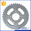 SCL-2012090219 Motorcycle Rear Sprocket for SUZUKI AX100 Parts