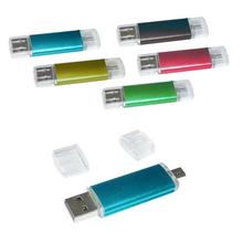 1GB USB Flash Drive dengan Mikro <span class=keywords><strong>Adaptor</strong></span>