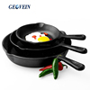 3 pieces Cast iron skillet pan sets pre-seasoning cast iron frying pan japanese cast iron cookware