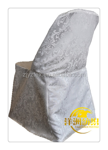White Damask Chair Cover Supplieranufacturers At Alibaba