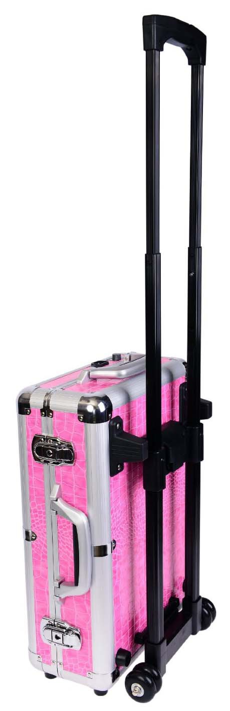 Cosmetics Mini Studio Togo Makeup Case,Pink Makeup Case With Light ...