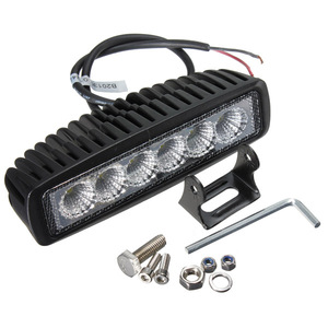Morsun 18W Led Work Light Ip67 Auto offroad led working light bar For Off road Tractor Truck Utv Atv