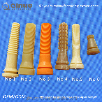 Qinuo High Quality Rubber Poultry Rubber Plucker Finger