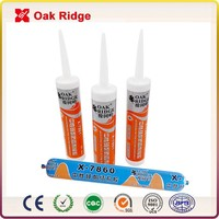 600ML High Class Neutral Weatherproof Silicone Sealant sausage and cartridge packing