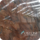 Natural Fashion Design Luxurious Brown Silk Road Granite Stone Slab