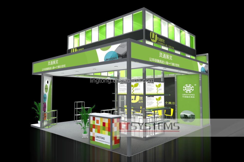Simple Exhibition Stand Here Alone : Aluminium exhibition booth design for germany system