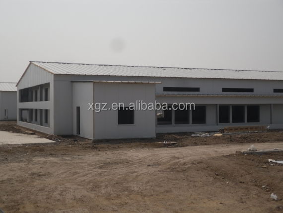 modern low price automatic chicken broiler house design