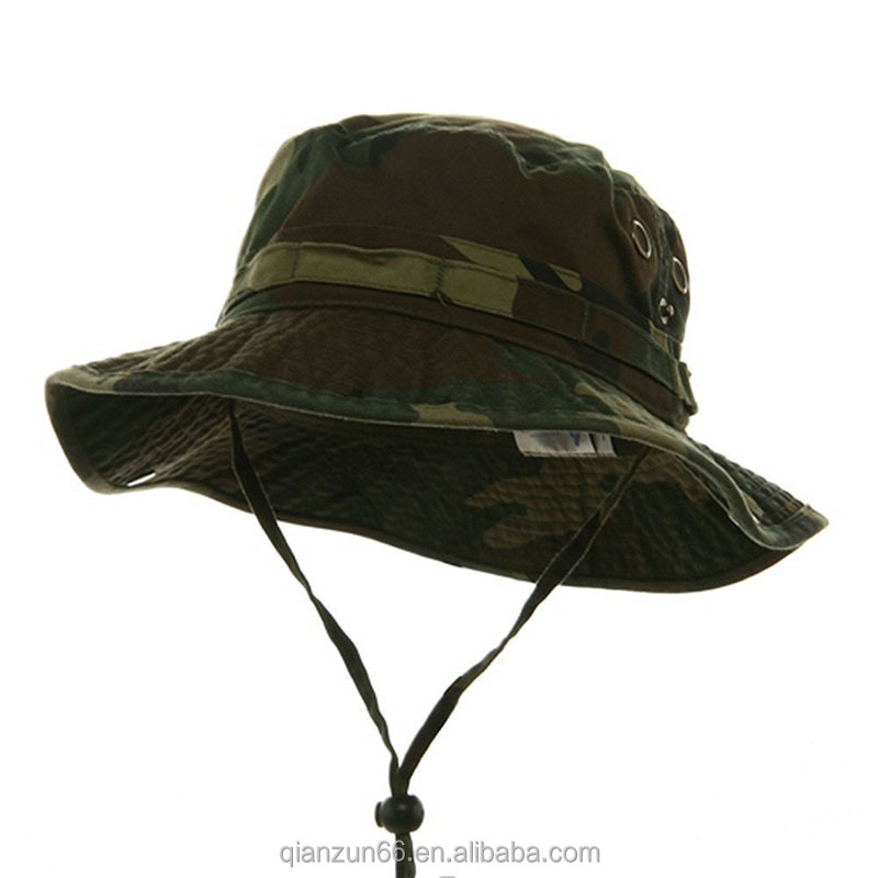 Camouflage Bucket Camping Hunting Boonie Hat