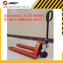Hot sale 2ton to 3ton low price hand hydraulic manual forklift